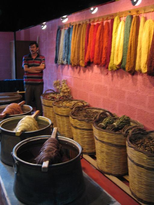 Fabrication de tapis en Turquie