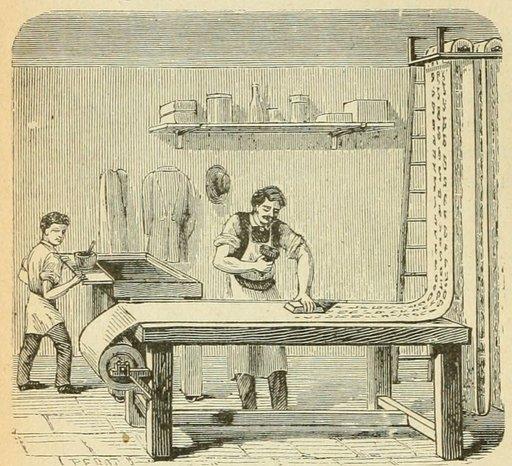 Fabrique de papier peint