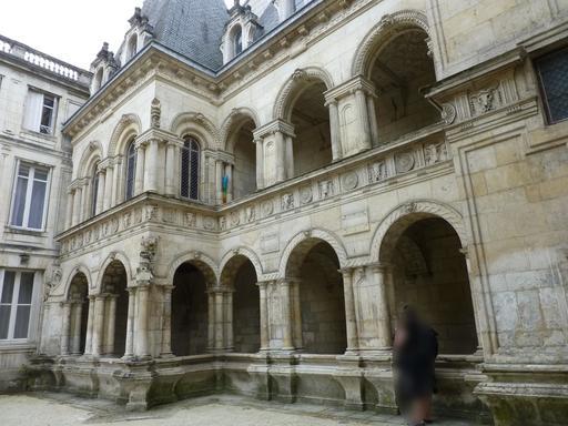Façade de la Maison Henry II à La Rochelle