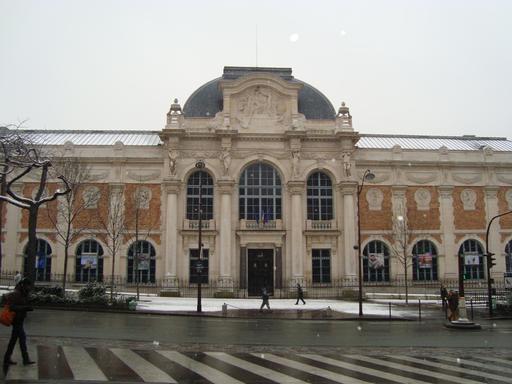 Façade de la Manufacture des Gobelins à Paris