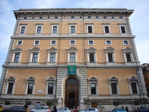 façade de palais italien