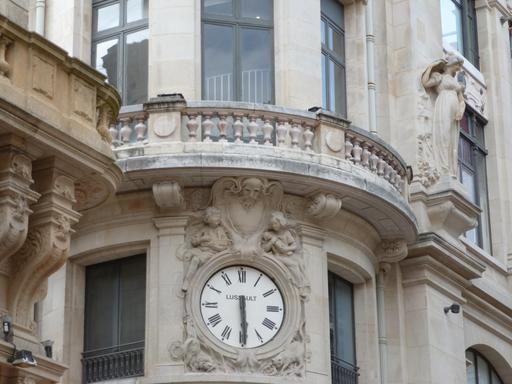 Façade des Nouvelles Galeries à Bordeaux