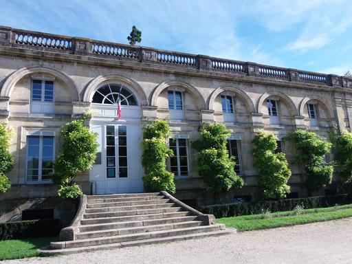 Façade du Museum d'histoire naturelle à Bordeaux