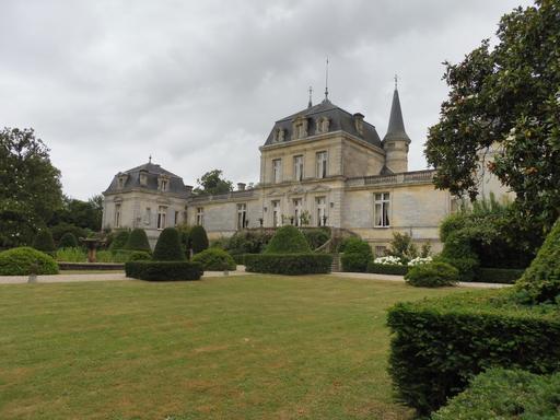 Façade nord du Château Malleret à Cadaujac