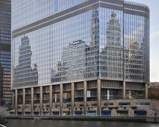 Façades miroirs à Chicago