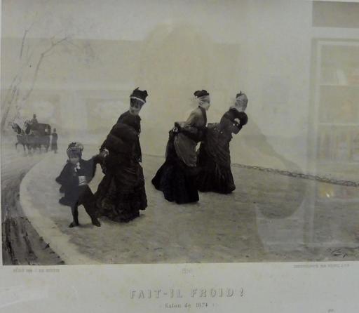 Fait-il froid ! en 1874