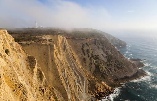 Falaises de Cabo Espichel au Portugal