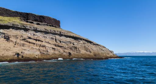 Falaises de Heimaey en Islande