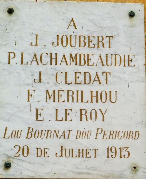Félibrée de 1913 à l'hôtel de ville à Montignac-24