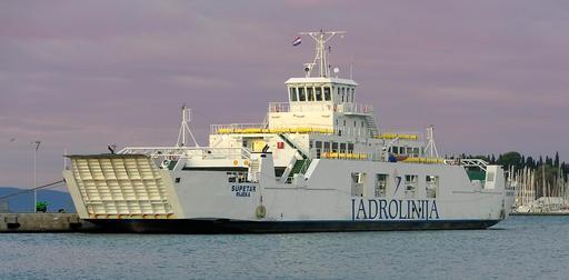 Ferry-boat en Croatie