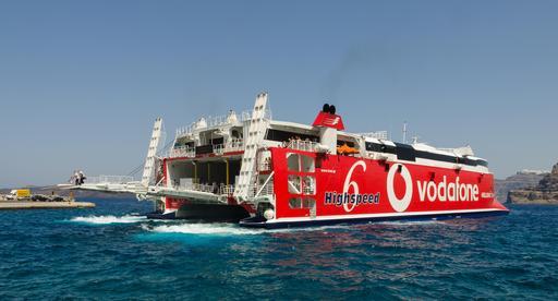 Ferry-boat en Grèce
