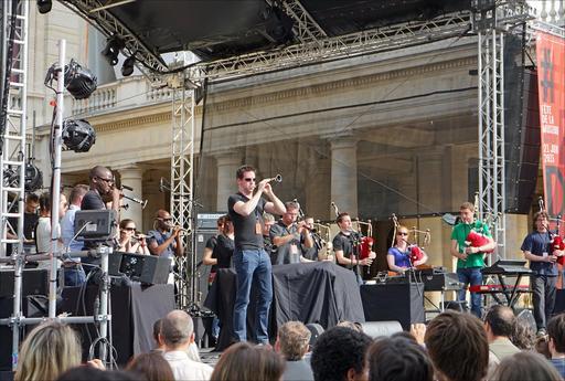 Fête de la musique 2015 au Palais Royal à Paris
