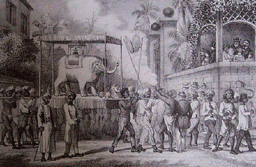 Fête des travailleurs indiens à La Réunion