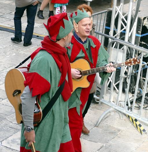 Fête du nouvel an à Dubrovnik