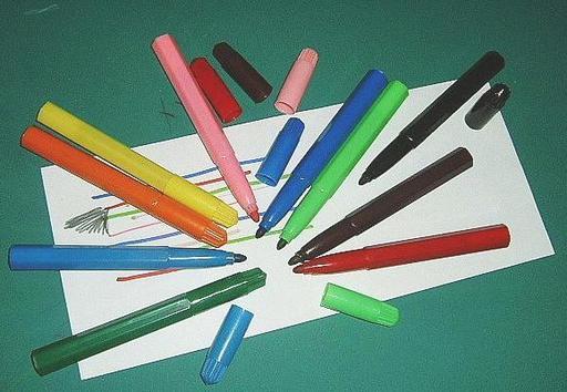 Feutres de couleur