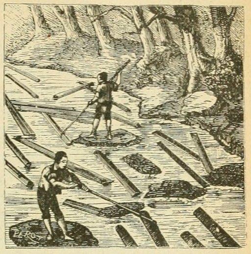 Flottage des bois