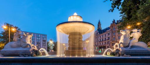 Fontaine à Munich