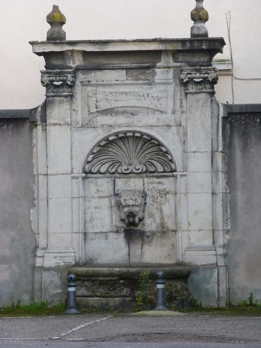 Fontaine à Nancy