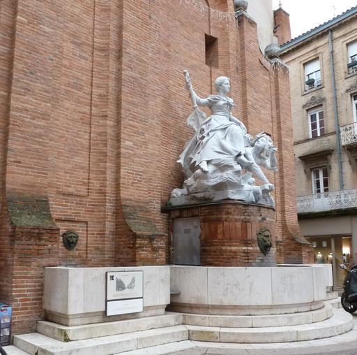 Fontaine Boulbonne à Toulouse