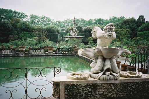 Fontaine de Neptune à Florence