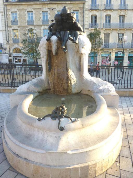 Fontaine Jeunesse place Darcy de Dijon