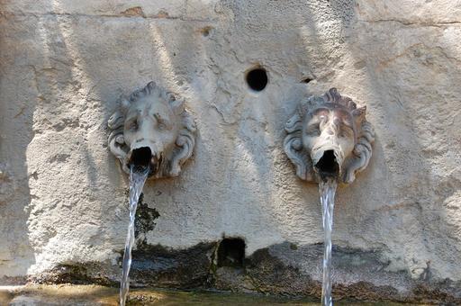 Fontaine près d'Uzès