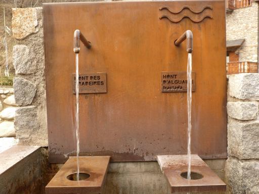 Fontaines en Catalogne