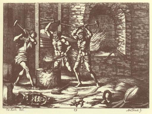 Forgerons du XVIIème siècle