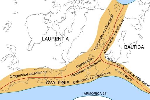 Formation de la chaîne calédonienne