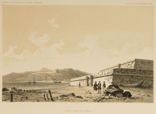 Fort de Penco au Chili