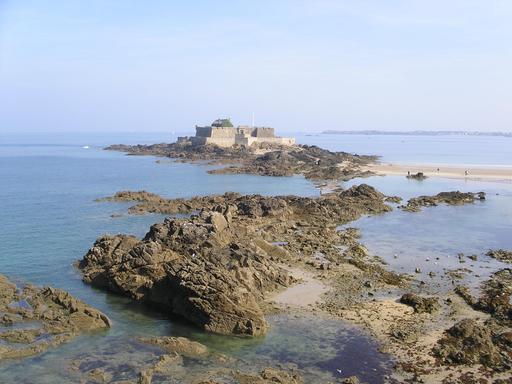 Fort National Saint-Malo en Bretagne
