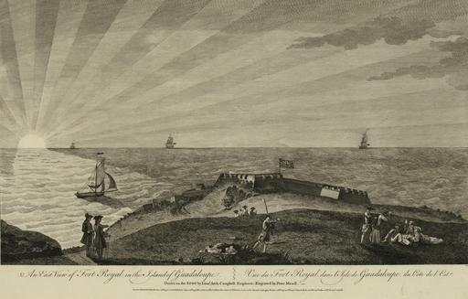 Fort Royal en 1768