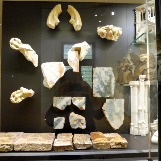 Fragments du tombeau de Jean sans Peur au musée des beaux-arts de Dijon