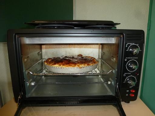 Frangipane cuite au four électrique