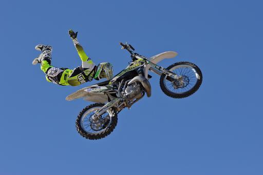Freestyle en moto