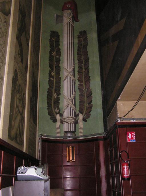 Fresque du faisceau du licteur