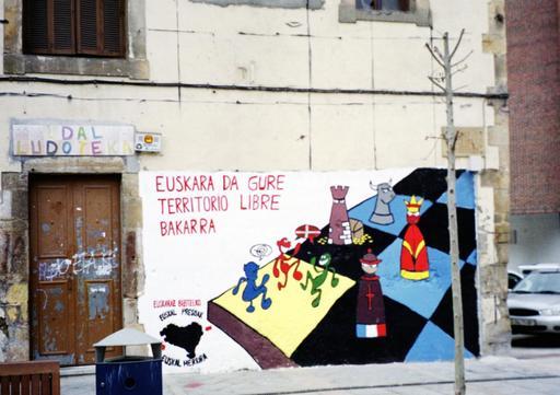 Fresque murale basque