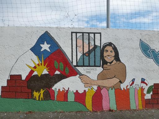 Fresque Salvador Allende à Pessac - 2