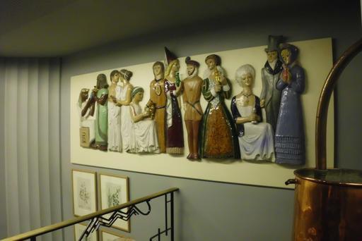Frise historique du Musée du Parfum