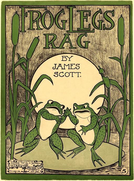 Frog Legs Rag de 1906