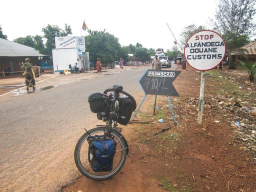 Frontière entre le Sénégal et la Guinée-Bissau