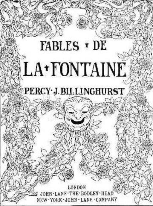 Frontispice de Cent fables de La Fontaine illustrées