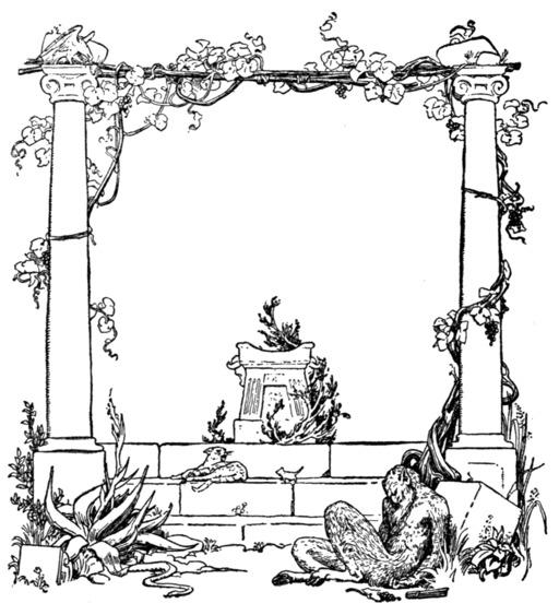 Frontispice de livre de contes merveilleux