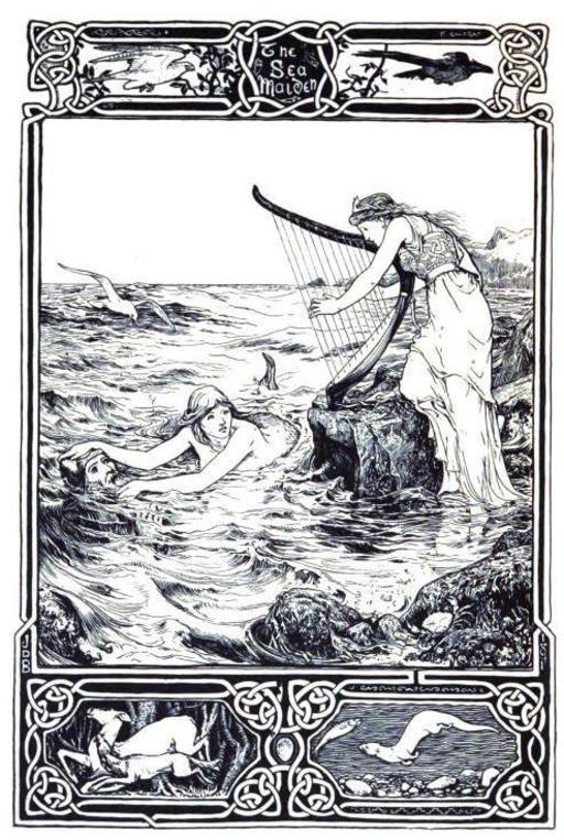 Frontispiece des contes celtiques