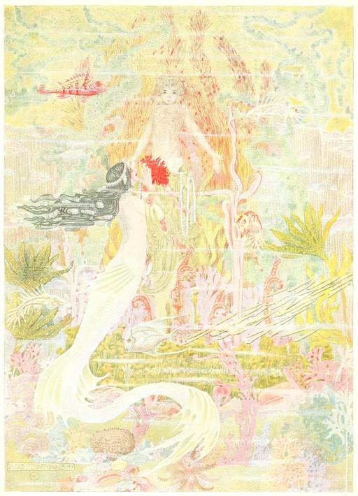 Frontispiece des contes d'Andersen en 1914