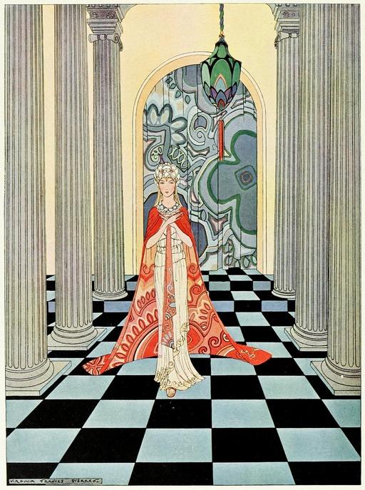 Frontispice des Contes de Tanglewood en 1921