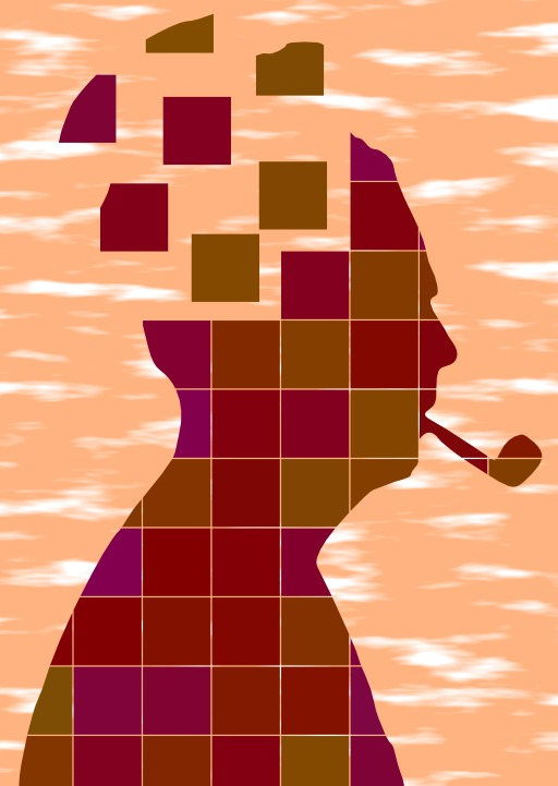 Fumeur déconcerté