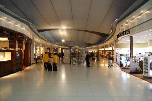 Galerie marchande de l'aéroport de Bangkok