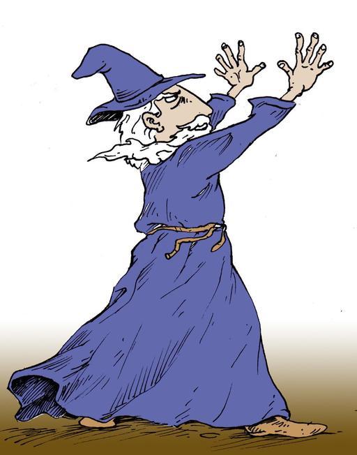 Gandalf jetant un sort