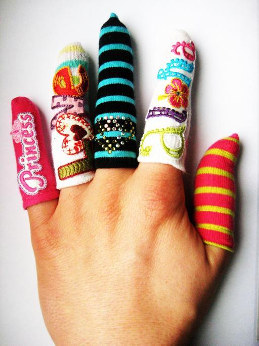 Gants de doigts